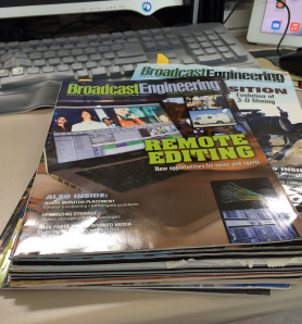 BroadcastEngineering Magazine from April 2011 to October 2013